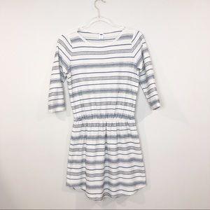 Old Navy • Blue White Stripe Cotton Dress • SP